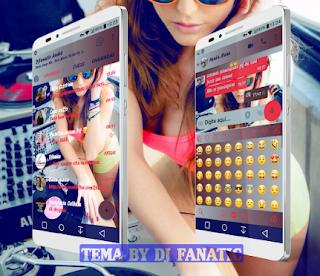Sexy Girl Theme For YOWhatsApp & Fouad WhatsApp By DJ