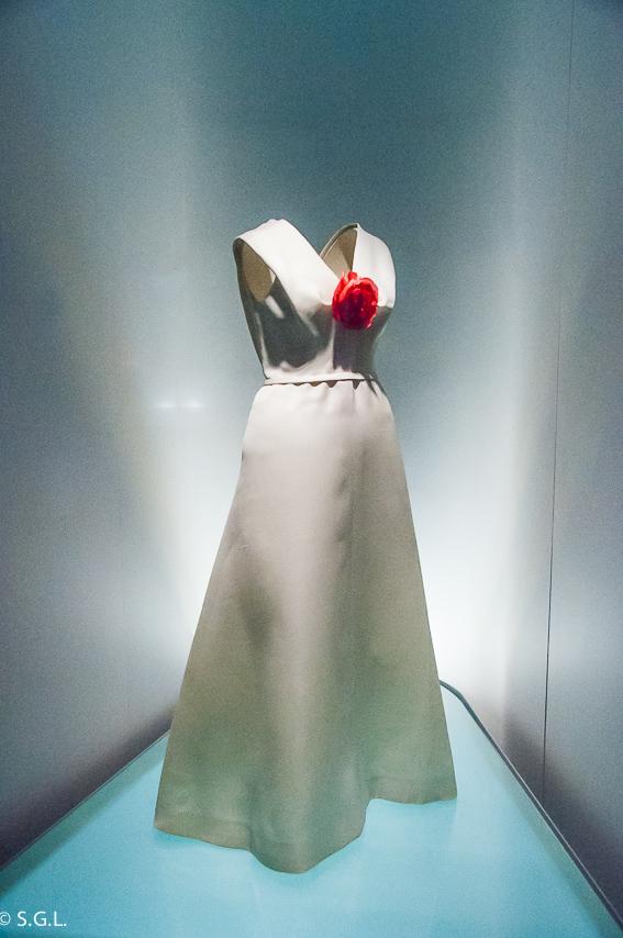 Vestido en Museo Balenciaga