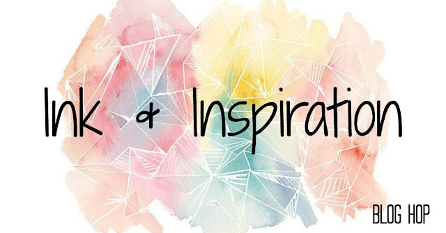 Ink and Inspiration Blog Hop Banner | Nature's INKspirations by Angie McKenzie