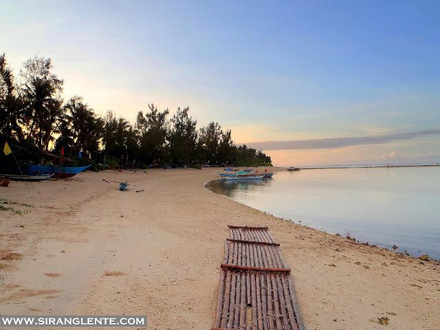 white sand near manila