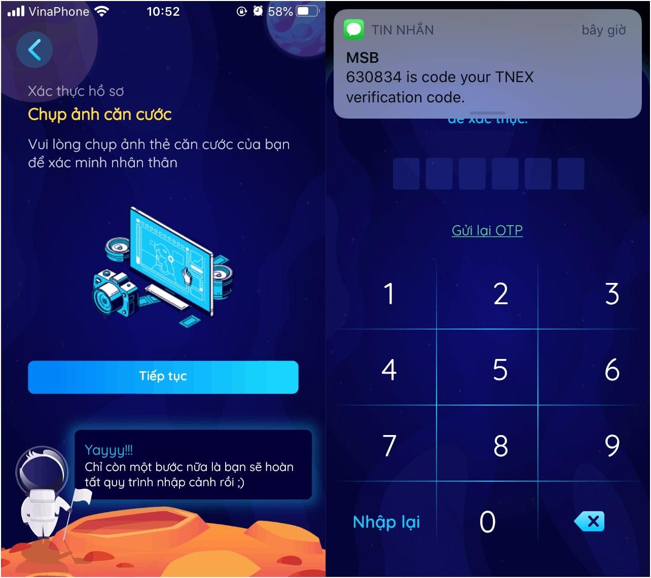 Cách đăng ký và kiếm tiền bằng app Tnex