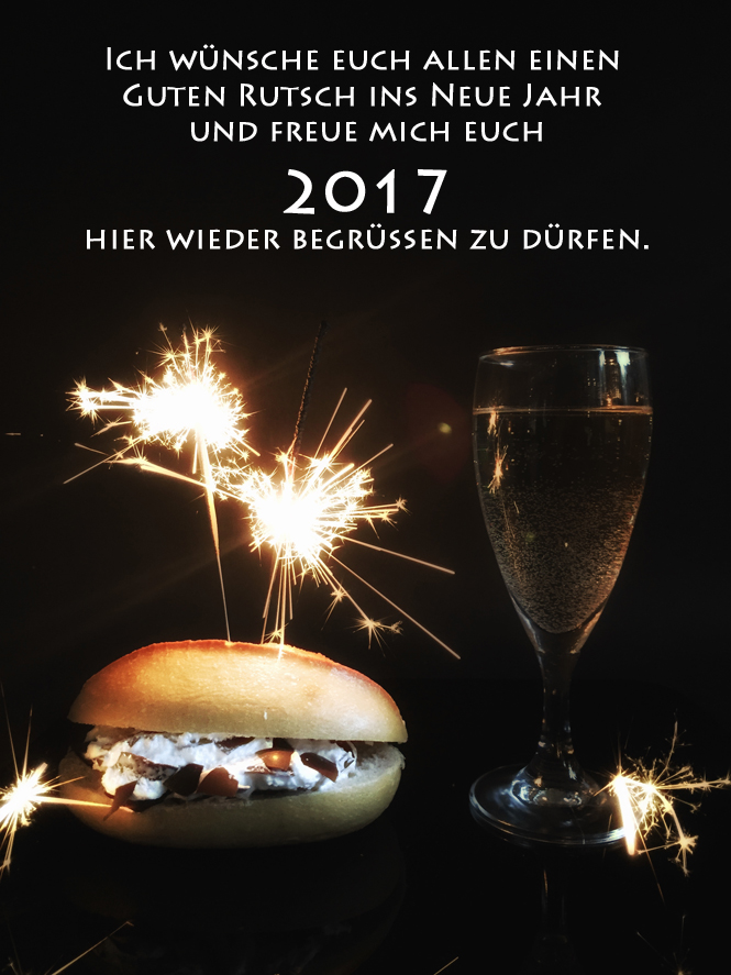 Guten Rutsch and a Happy New Year!  / Mo'Beads / Monika Thiede