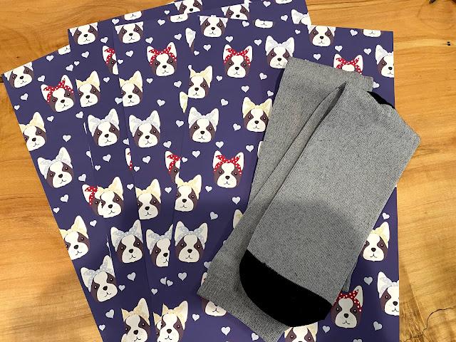 sublimation, sublimation printing, sublimate socks, polyester socks, beginner tutorial