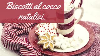 biscotti cocco natalizi vegan ricetta
