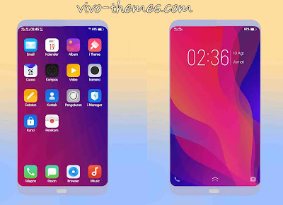 Oppo  Find X Theme For Vivo