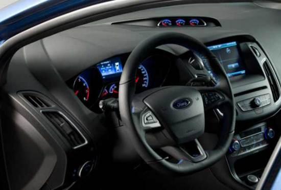 2017 Ford Fiesta St Interior