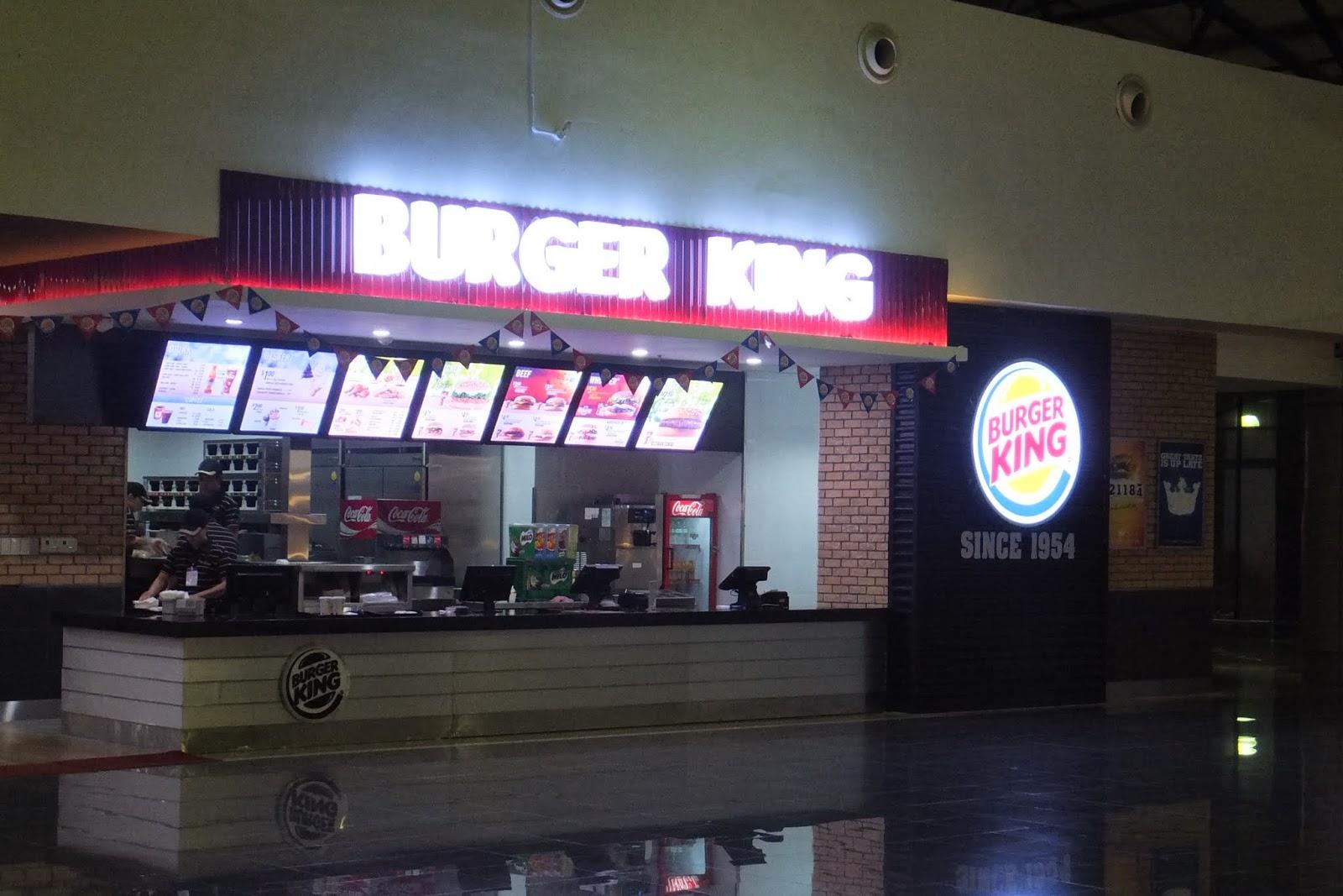 Burgerking-noibaiairport-hanoi ノイバイ国際空港のバーガーキング