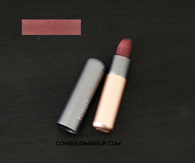 Review: Rossetto Velvet Passion 319 Chocolate - Kiko Milano