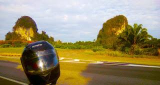 Thailand motorbike travel