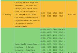 Tarif Dan Rute Bus Bandara Soekarno Hatta Biaya Dan Tarif