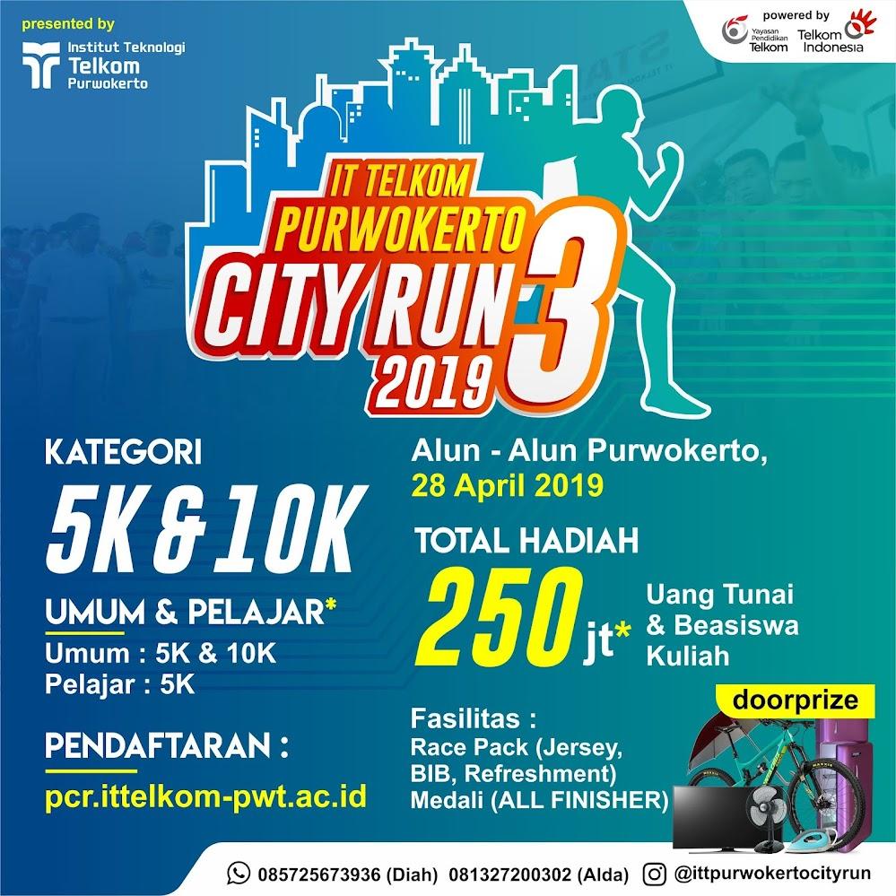 IT Telkom Purwokerto City Run • 2019