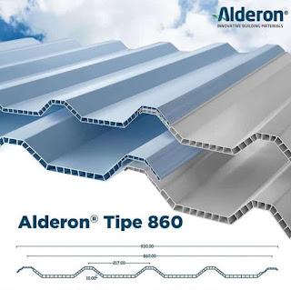 Atap Invideck dan Atap Alderon