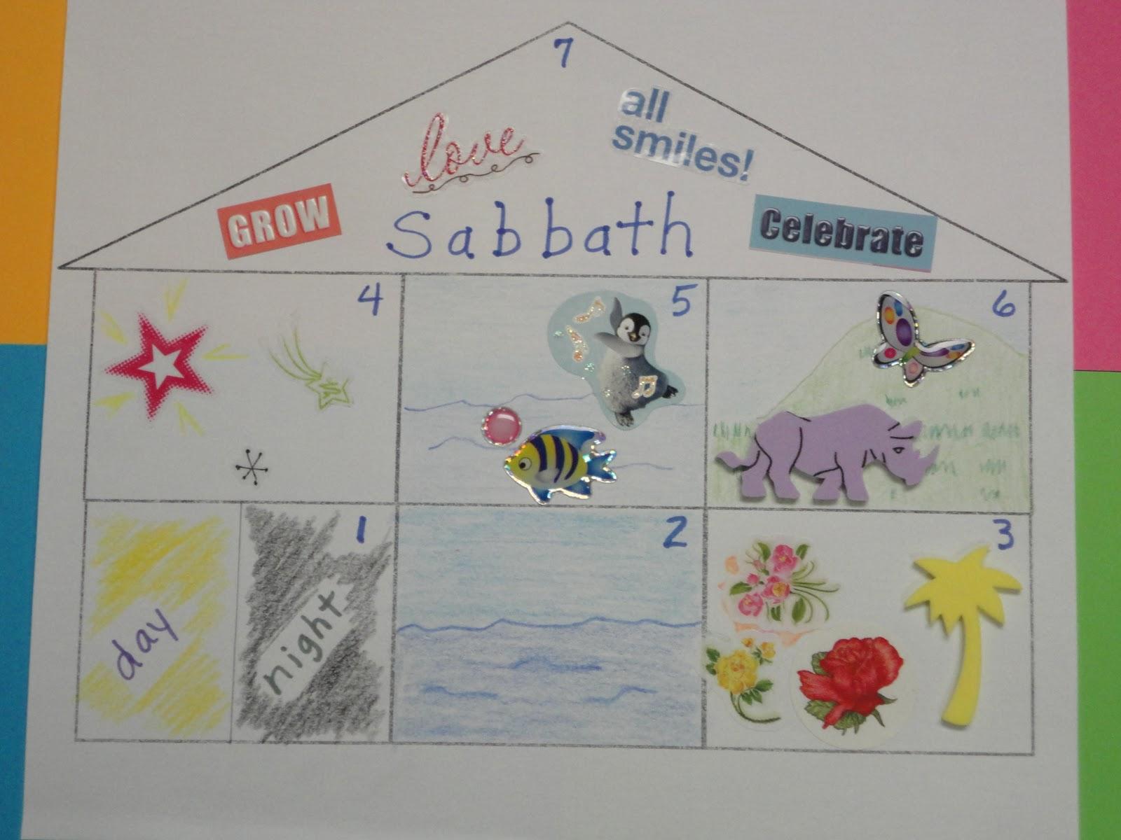 Esther Locascio Creation Story Class Activity