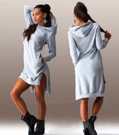 4baf4df3b0 Asymetryczna sukienka dresowa