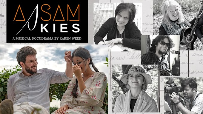 Artists from 4 countries come together to revive a story from the Colonial era in Assam | Assam Skies by Karen Weed