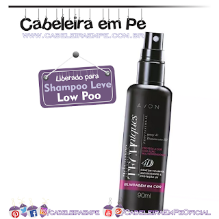 Spray de Tratamento 4D Blindagem da Cor Advance Techniques - Avon (Low Poo)