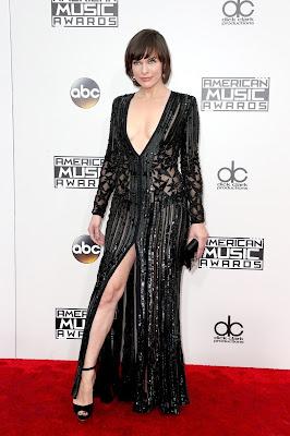 Milla Jovovich - AMA 2016