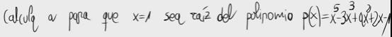 47.Valor de un parámetro y raíces de polinomios