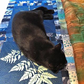 In Dreams I Slept in a Cabin, Sue Reno, WIP Image 15