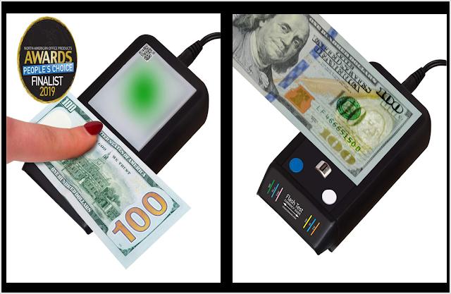 Counterfeit Bill Detector by Dri Mark