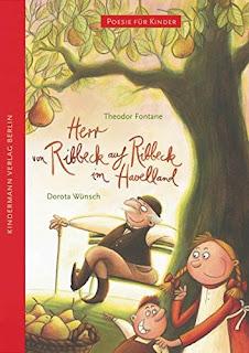 Theodor Fontane - Herr von Ribbeck auf Ribbeck im Havelland, illustriert von Dorota Wünsch im Kindermann Verlag
