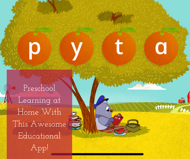 Homer Reading Preschool App