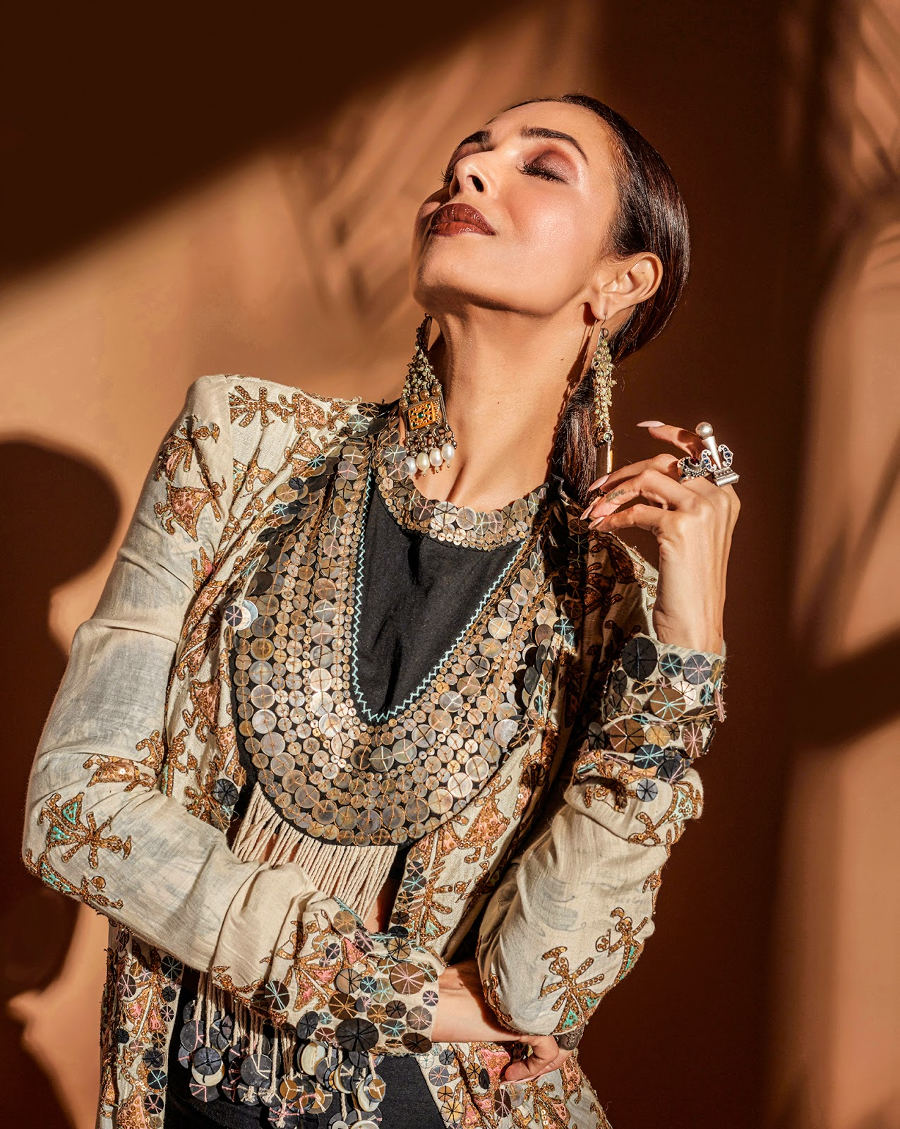 Malaika Arora At Bachchan's Diwali Bash 2019