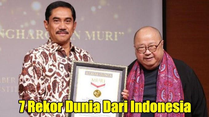 7 Rekor Dunia Dari Indonesia