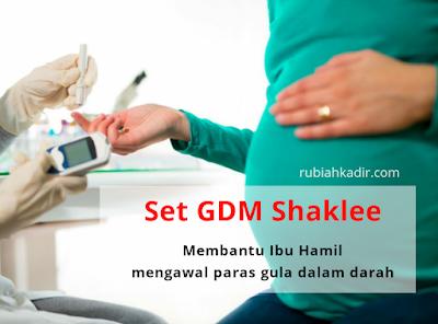 Set GDM Shaklee Untuk Ibu Hamil