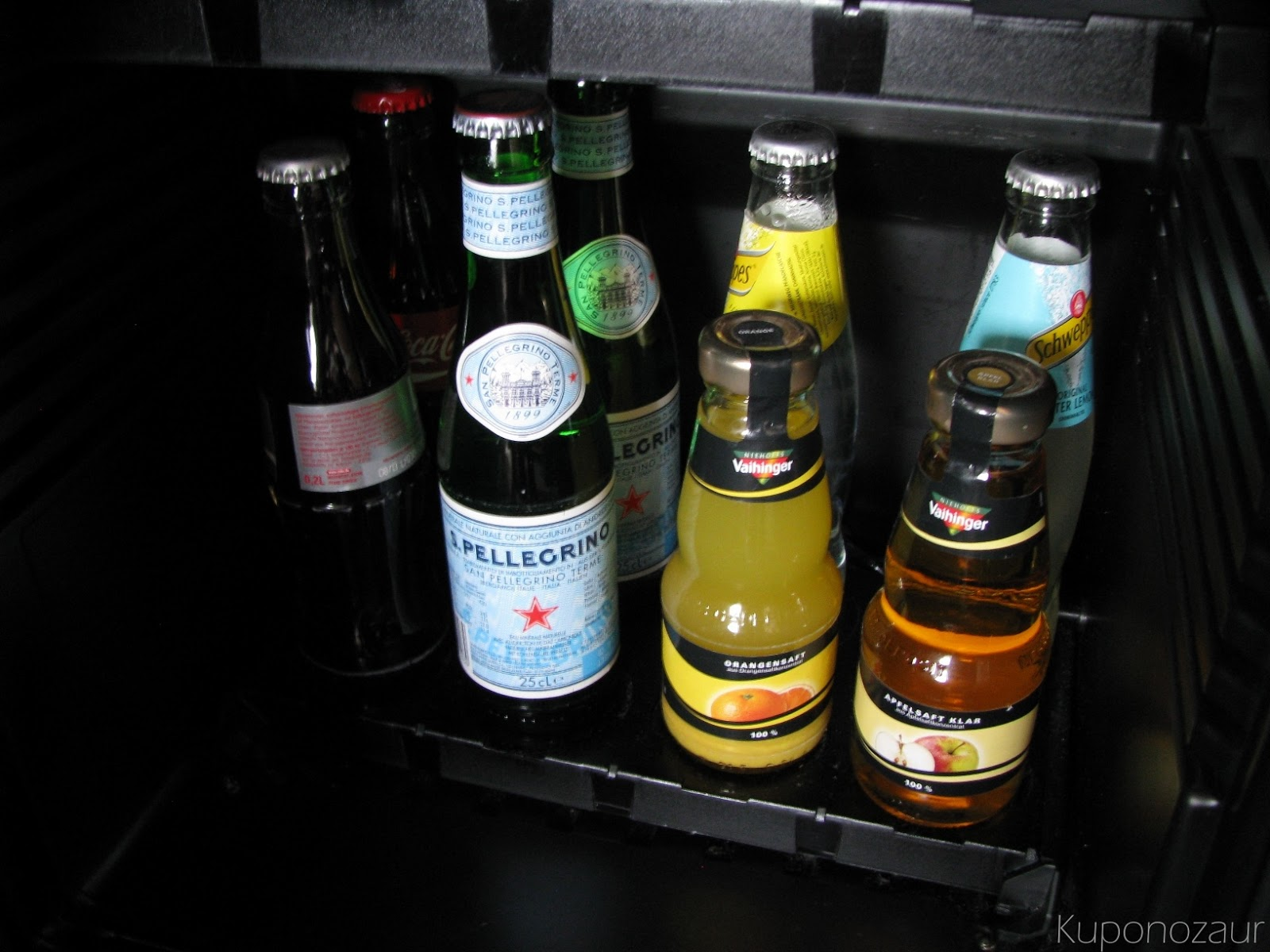 InterContinental Berlin minibar 2