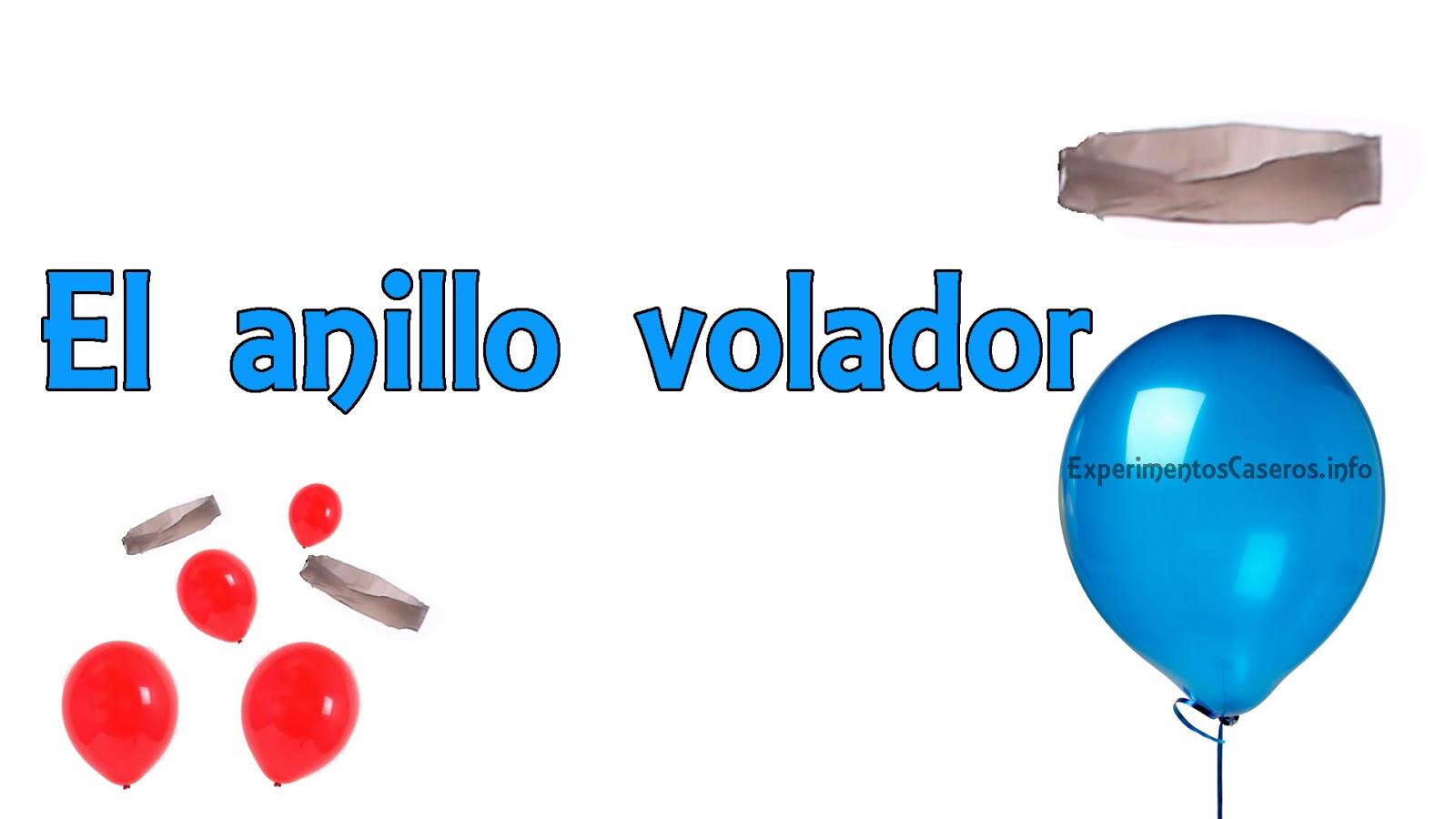 Experimentos Caseros El Anillo Volador Levitacion Casera - Experimentos-para-nios-con-globos