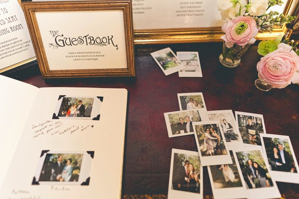 Genoeg Polaroid cameras: Bruiloft ideeën met polaroidfoto's @WS58