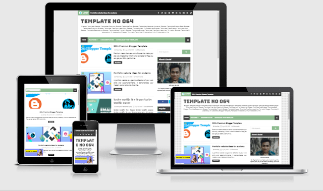 Alpha premium blogger template download