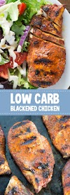 Low Carb Blackened Chicken #keto #lowcarb