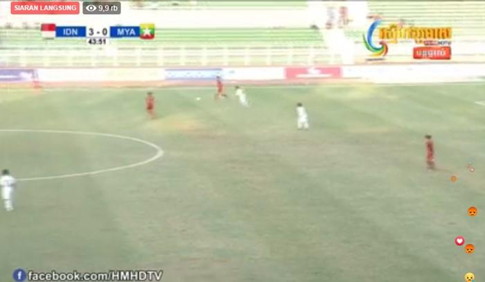 Live Streaming Indonesia vs Myanmar - FB
