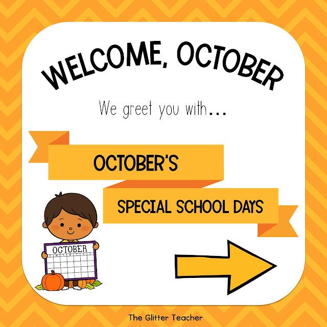 Celebraciones escolares importantes para Octubre. Recopilación de recursos e ideas didácticas para celebrar el Día Mundial de la Sonrisa, El día de la Comunidad Valenciana, El Día de la Hispanidad y Halloween.