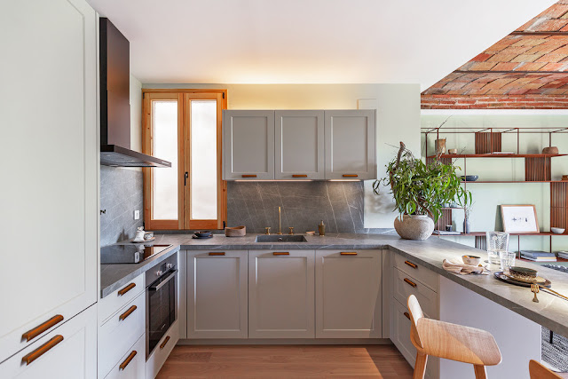 Дизайн-проекты. Лес, наполняющий квартиру в Барселоне