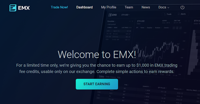 EMX Airdrop - Worth $100 + Additional Ref Earnings