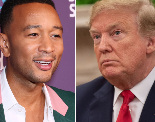 Everyone please call your senators and tell them to remove this evil man from office - John Legend reacts to Trump's impeachment