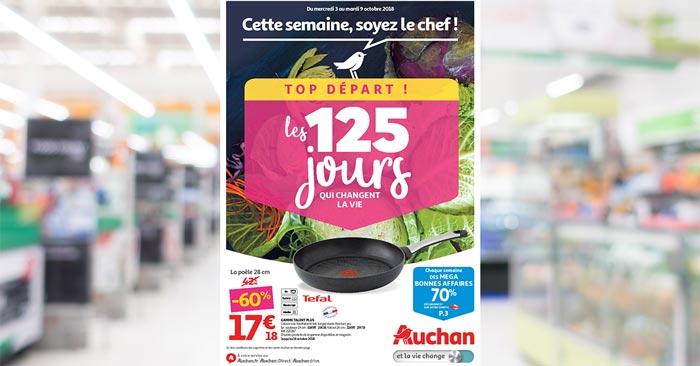 Catalogue Auchan Hypermarché Du 3 Au 9 Octobre 2018