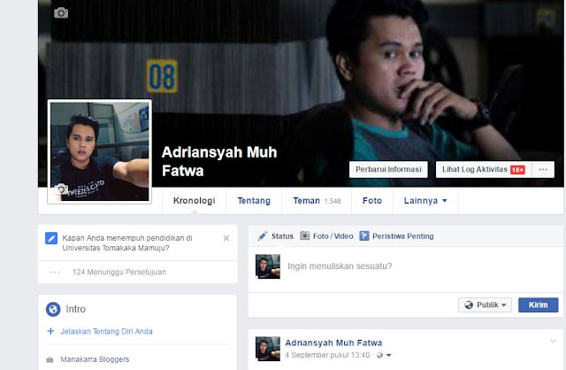 Siapa Yang Sering Buka Profil Facebookmu,Begini Caranya