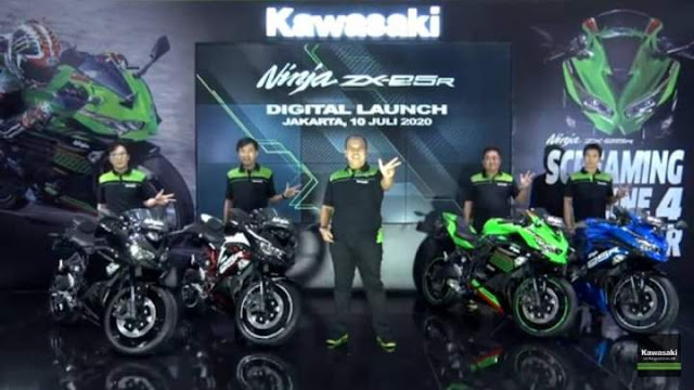 Kawasaki ZX25R Indonesia