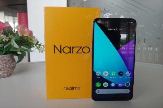 Rekomendasi HP 2 Jutaan Realme Narzo 20
