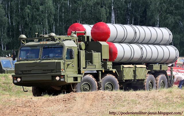 Adquisiciones y modernización de las FF.AA. de Irán Misil%2BS-400