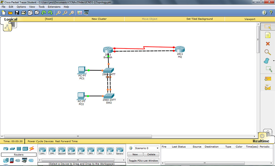 Cisco - Linux - Python: Installing Packet Tracer