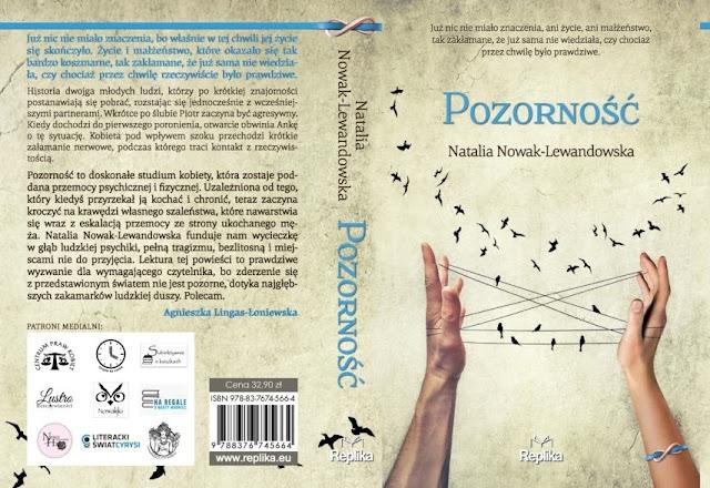 Pozorność – Natalia Nowak-Lewandowska. Patronat medialny