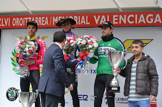 Podium Memorial Valenciaga 2017