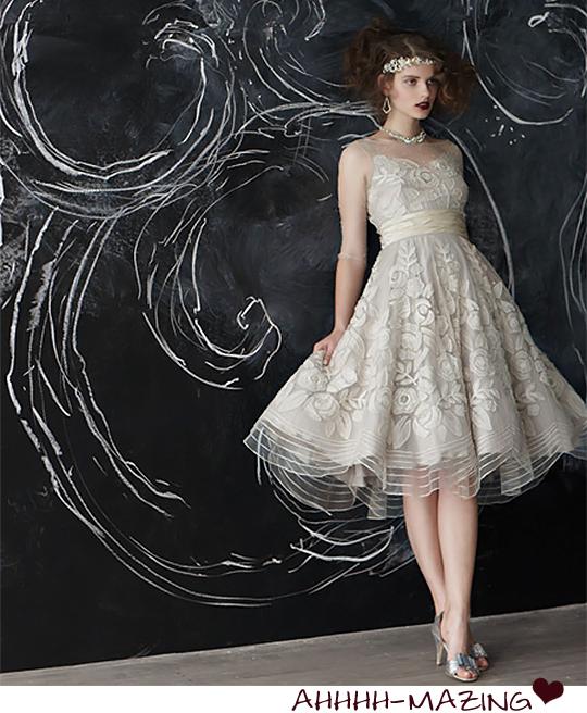 BHLDN gown
