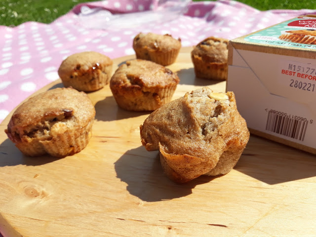 Cookie Crumbles White Chocolate & Cranberry Muffins for the picnic