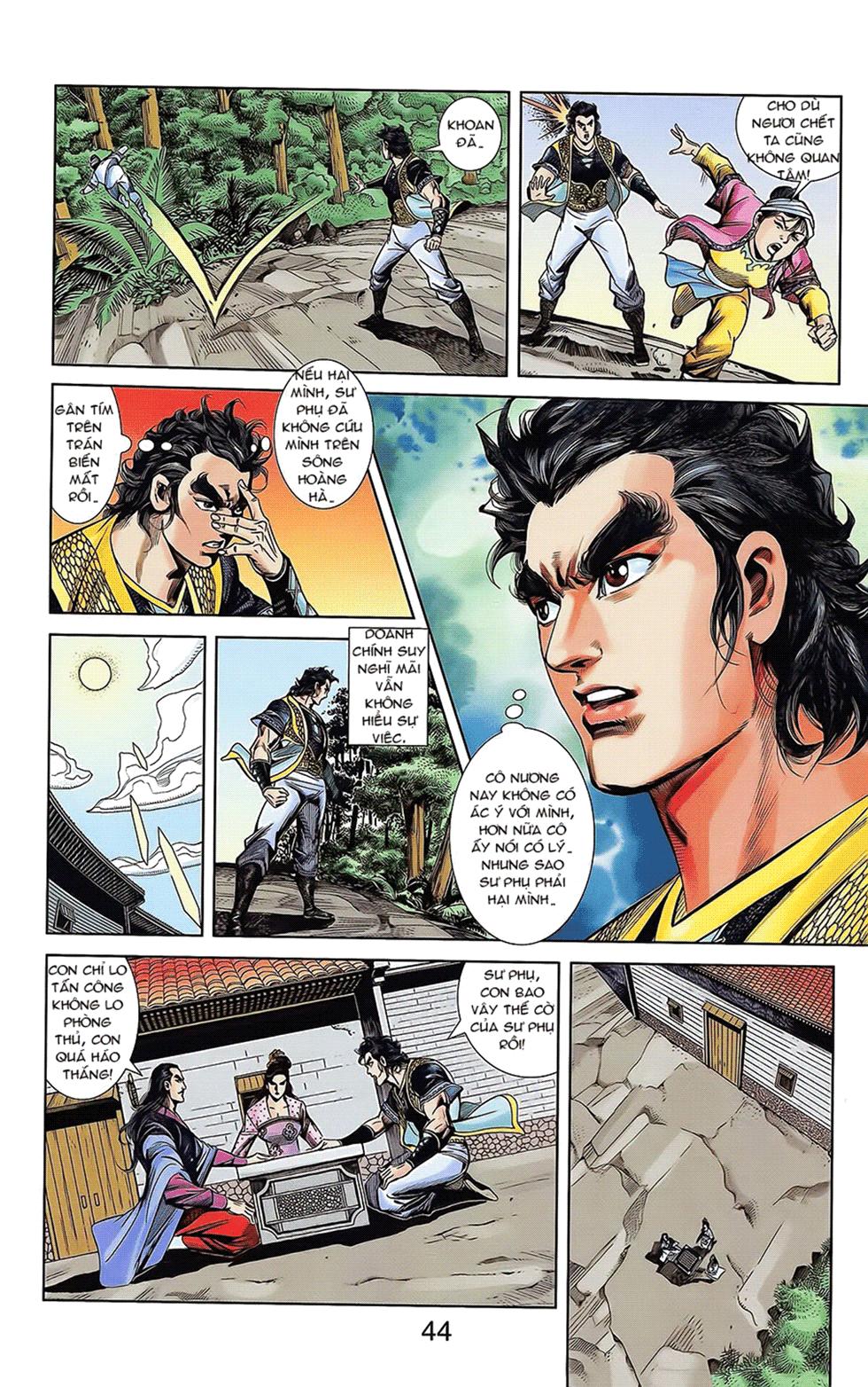 Tần Vương Doanh Chính chapter 16 trang 18